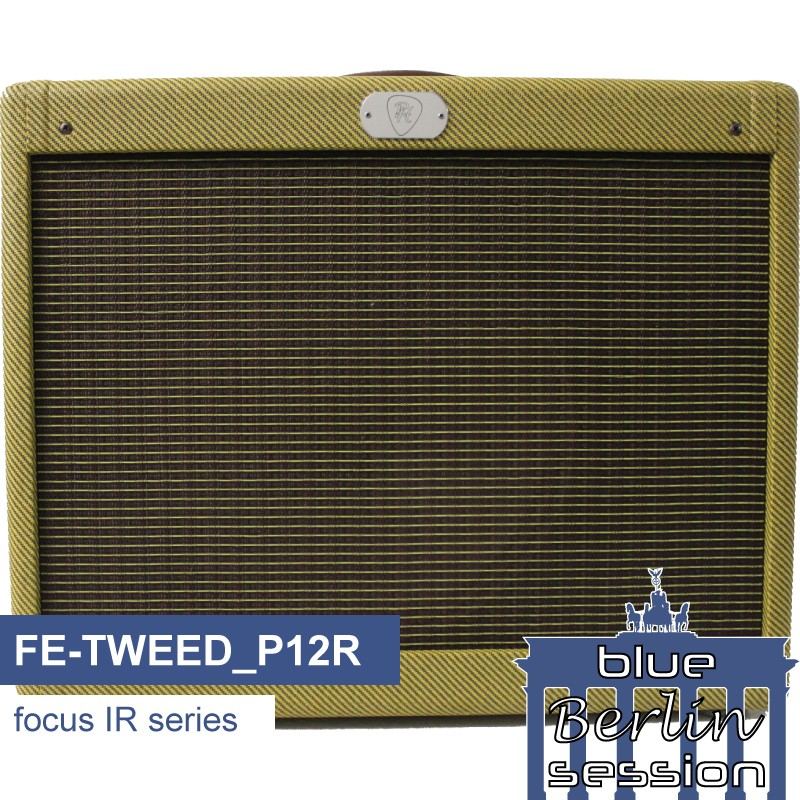 FE-TWEED_P12R guitar impulse response IR library, based on a Fender