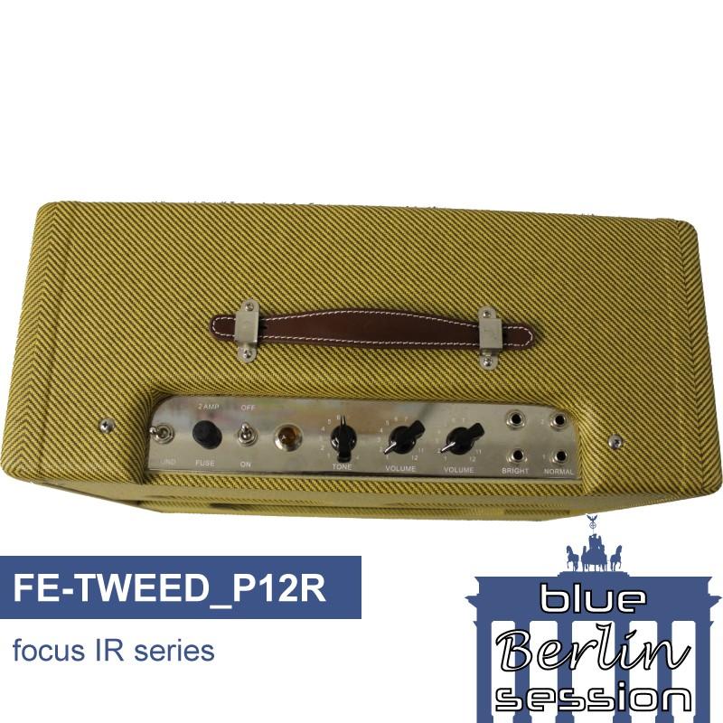 FE-TWEED_P12R guitar impulse response IR library, based on a Fender