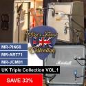 UK Triple Collection VOL.1 - ART71 + JCM81 + PIN68