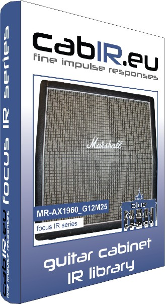 MR-AX1960_G12M25 guitar impulse response IR library, based on a