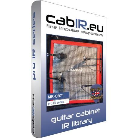 MR-CB71_G12M25 (basierend auf einer `71er Marshall™ 1960A Gitarrenbox mit Celestion™ G12M25)