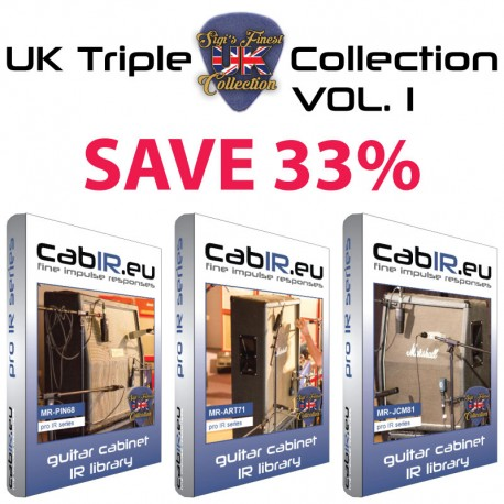 UK Triple Collection VOL.1 - PIN68 + ART71 + JCM81