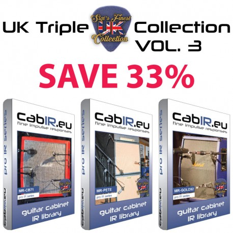 UK Triple Collection VOL.1 - ART71 + JCM81 + PIN68