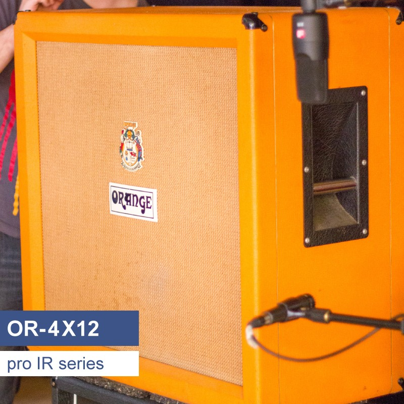 OR-4X12 guitar speaker cabinet IR library, based on a Orange